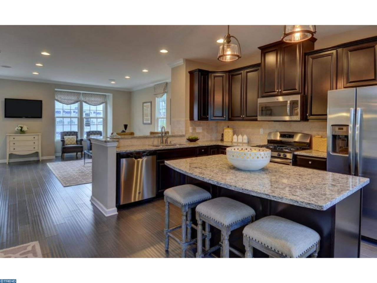 Image of kitchen in a townhouse in Parkway South Ridge, Middletown, DE